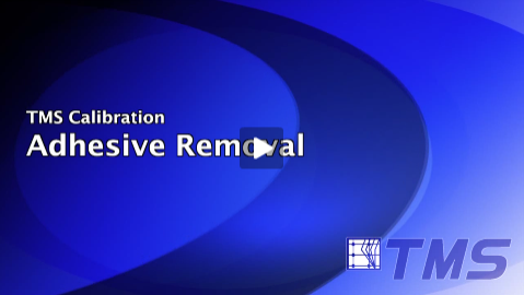 Adhesive Calibration Mounting Removal