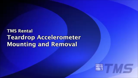 Teardrop Accelerometer Mounting and Removal