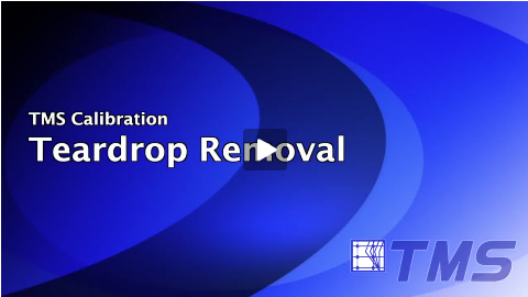 Teardrop Removal Calibration